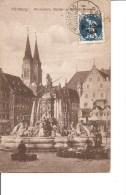 Bavière ( Carte Postale De 1921 De Nurnberg Vers La Belgique à Voir) - Bavière