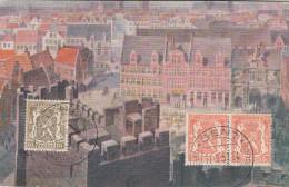 Gent, Gand, De Veerleplaats Van Op Het Gravensteen Gezien (19194) - Gent