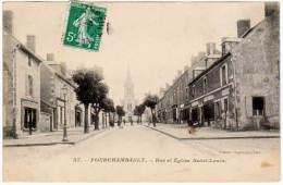 Fourchambault - Rue Et église Saint-Louis - Autres Communes