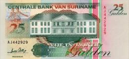 Surinam 25 Gulden 1996 Pick 138c UNC - Surinam