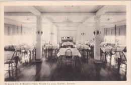 Canada Riviere Du Loup Dining Room St Louis Inn A Modern Hotel - Québec - Les Rivières