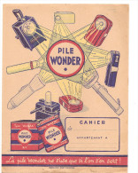 Protège Cahier Pile Wonder Ne S´use Que Si L´on S´en Sert! - Protège-cahiers
