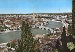 Italia - Postcard Ciculated In 1973 -Verona  - Panorama - 2/scans - Verona