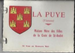 LA PUYE ... MAISON MERE DES FILLES DE LA CROIX SAINT ANDRE ....10 VUES - Francia