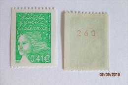 France Neuf Année 2002 , Dentelé ,sans Trace De Charnière Marianne Du 14 Juillet, N°3458a, Mariannes - Nuevos