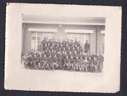 Photo Originale - Militaria - Groupe 22 è Section D' Infirmiers Militaires Paris Caserne Mortier ( Fin 1939 2 Guerre Mon - War, Military