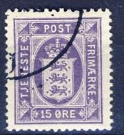 ##Denmark 1919. Official Stamp. Michel 18. Used(o) - Dienstpost