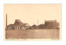 CPA : 77 JOUY Le CHATEL : La Raperie : Bâtiments De L'usine - Cheminée - Maison - Peu Commune - Frankreich
