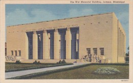 War Memorial Building Jackson Mississippi Curteich - War Memorials
