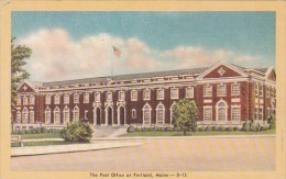 Posty Office At Portland Maine - Postal Services