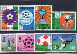 Sport Calcio Francobolli Tematica Calcio Francobollo World Sports Stamp - Calcio