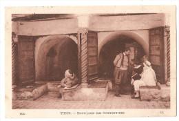 Tunisie - Tunis Boutiques Des Cordonniers Métier Cachet Tunis Rp 1913 - Túnez