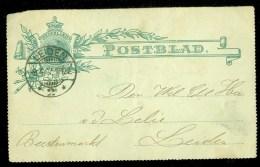 POSTBLAD Uit 1907  Van LOKAAL LEIDEN  VOORDRUK  (9810q) - Postal Stationery