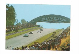 24 HEURES DU MANS - COURSE AUTOMOBILE  1987 DESCENTE DU PANORAMA - - Le Mans