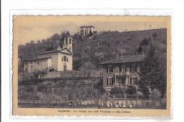 Solzago, La Chiesa Con Villa Pirovano E Villa Catena, Annullo Tavernerio -  F.p. - Anni '1930/1940 - Como