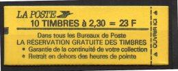 France Carnet Usage Courant N° 2614C1 Daté  Neuf  XX   , Cote  50,00  Euros Au Tiers De Cote - Carnets