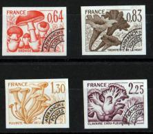 FRANCE 1979 PREOBLITERES NON DENTELES N° 158/61 NEUFS ** COTE 125 EUROS - Préoblitérés