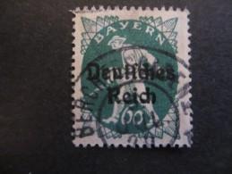 Deutsches Reich 1920, 6. April/1921, April Freimarken Teilauflagen Und Neue Wertstufen Von Bayern (sog. Abschiedsserie) - Gebraucht