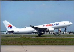 Airbus A330-223F Aircraft Malaysia MasCargo Airline A 330 Mas Cargo Avion Aviation A330 Airplane A-330 Luft - 1946-....: Moderne