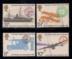 UK 1974 Used Stamp(s) U.P.U. Nrs. 650-653 - 1952-.... (Elizabeth II)