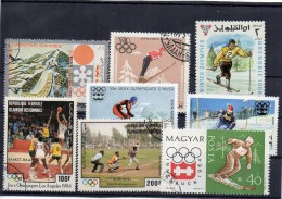 Sport Francobolli Olimpiadi Tematica Sport Vari Francobollo World Sports Stamp - Francobolli