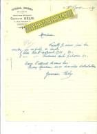 50 - Manche - ST-LO - Facture HELIE - Pâtisserie - Confiserie - Boulangerie – 1925 - REF 187 - France