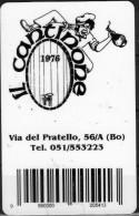 Biglietto Da Visita 'Il Cantinone' (plastificato) - Altre Collezioni