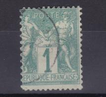 FRANCE SAGE N° 61 OBLITERE COTE 100 EURO - 1876-1878 Sage (Type I)