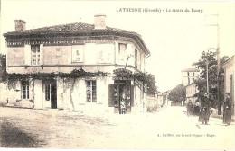 33 LATRESNE  CENTRE DU BOURG  EPICERIE MERCERIE - France