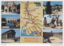 PROVENCE ROMAINE - Multi-vues - Landkaarten