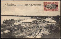 Congo - Entier Postal Stibbe N° 43 Vue 44 - 1922 Albertville Bruxelles Belgique - R1 - Ganzsachen