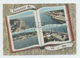 Ver-sur-Mer (14) : 4 Vues Aérienne Générale Du Bourg En 1966 GF. - Andere Gemeenten