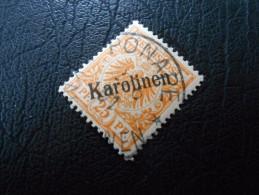 D.R.Mi 5II B  25Pf  Deutsche Kolonien ( KAROLINEN ) 1900 - Steiler Aufdruck - D´orange - Colony: Caroline Islands
