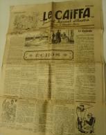 """RARE EXEMPLAIRE MENSUEL """" LE CAÏFA """" N° 17 . 2ème ANNEE AVRIL 1929 - Journaux - Quotidiens"""