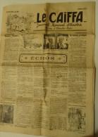 """RARE EXEMPLAIRE MENSUEL """" LE CAÏFA """" N° 20 . 2ème ANNEE JUILLET 1929 - Journaux - Quotidiens"""