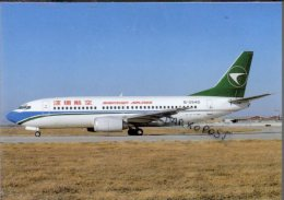 Boeing B 737-31L Aviation Shenzhen Airlines Air B-737 Aereo Avion B. 737 Aircraft B737 China - 1946-....: Era Moderna