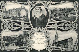 C3845 Cpa 87 Souvenir De Rochechouart - Rochechouart