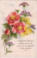CPA L'ange De L'Eternel... - Bouquet Des Fleurs (15318) - Fleurs, Plantes & Arbres