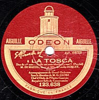 78 Trs - 30 Cm - état TB - DI MAZZEI Et Gabrielle DORLEY - LA TOSCA Quelle Est Cette Blonde, Dis-moi ?  Ma Jalouse - 78 Rpm - Schellackplatten