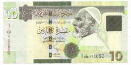 Libya 10 Dinars 2011 - Libië