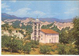 Septemvri Postcard, Melnik, Le Monastere De Rogene, L'ossuaire, Roshenski-Kloster, Das Beinhaus - Bulgaria