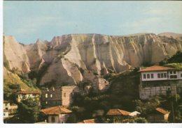 Balkan Touriste Postcard, Melnik, Vue Generale, Gesamtansicht - Bulgaria