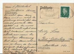 =DR GS  1931 Frankfurt Am Main  SST - Alemania