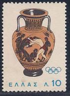 Greece, Scott # 806 Unused No Gum Vase, 1964 - Unused Stamps