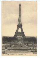 CPA - 75 - PARIS - La Tour Eiffel - LL 1452 - Tour Eiffel