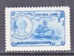 U.S JUNIOR  NAVY  RESERVE  JOHN  PAUL  JONES  TRAINING  SCHOOL  ** - United States