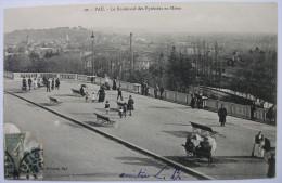 64 - PAU - Le Boulevard Des Pyrénées En Hiver - - Pau