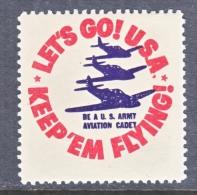 U.S  BE  A  ARMY  AVIATION CADET    ** - United States