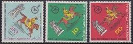 Pakistan MNH 1971, Set Of 3, Persian Monarchy, Histroy, Horseman, Horse, - Pakistán
