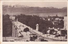 Lausanne  : Le Pont Chauderon - Obl. 21.IX.1917 - VD Waadt